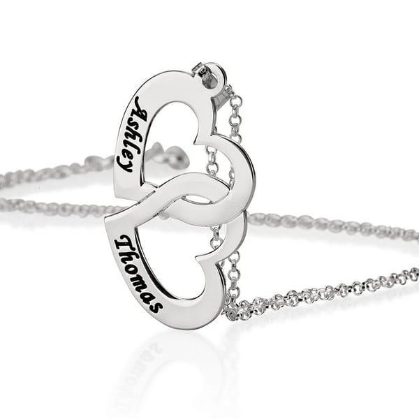Cute Couple Necklace Set