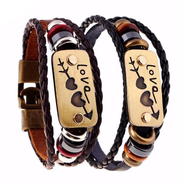 Distance Bracelets For Lovers
