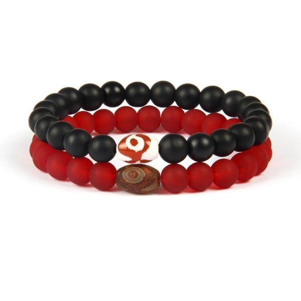 Distance Bracelets Red