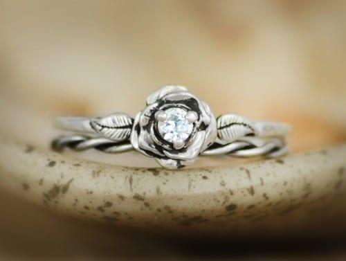 Elegant Unique Wedding Rings Women