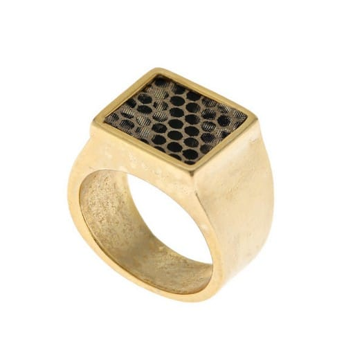 Engraved Signet Rings Men