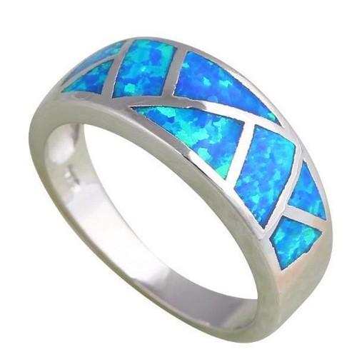 Ethiopian Opal Engagement Ring