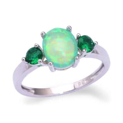 Fire Opal Engagement Rings Ring To Perfection