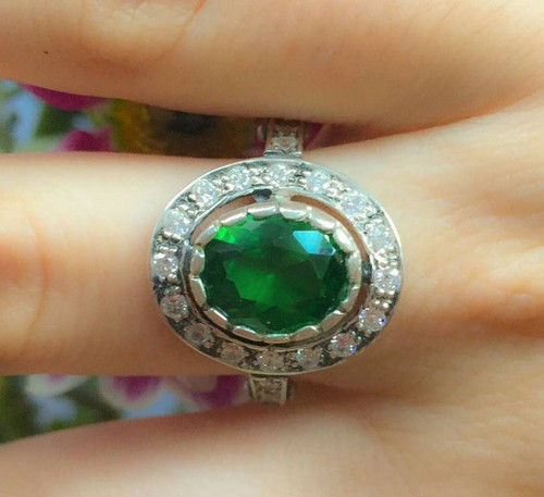Genuine Emerald Rings For Sale
