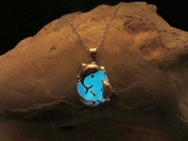 Glowing Pendant In The Dark Necklaces