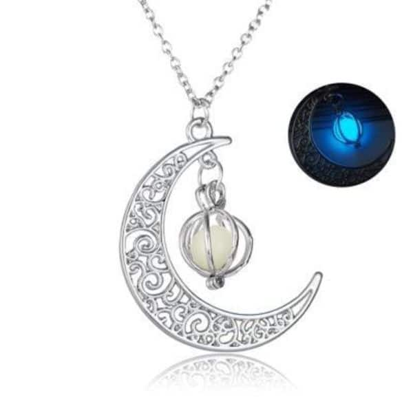 Glowing Pendant Necklaces Mystic