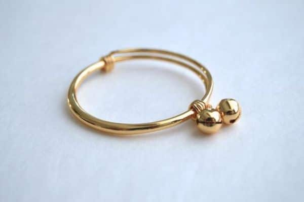Gold Bracelet For Baby Girl