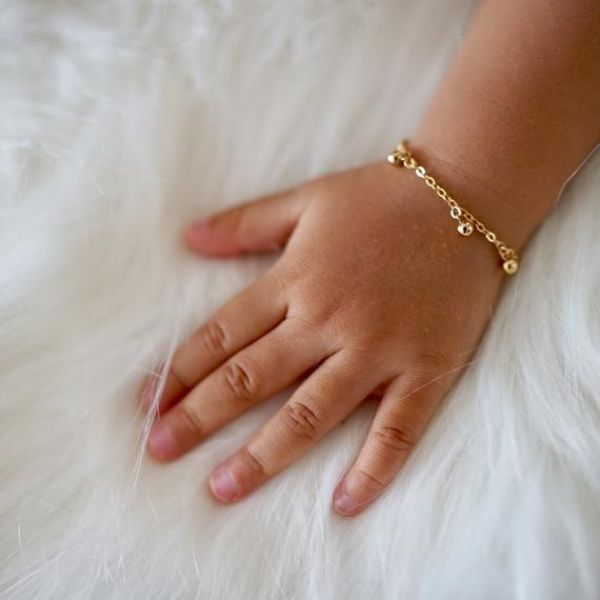 Gold Bracelet For Girl Baby