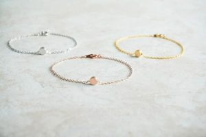 Gold Bracelet For Siblings