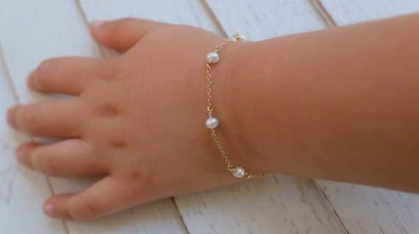 Gold Bracelet For Toddler Girl