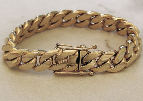 Gold Bracelets For Men Etsy