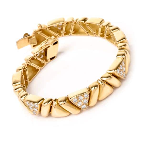 Gold Bracelets For Women 18K