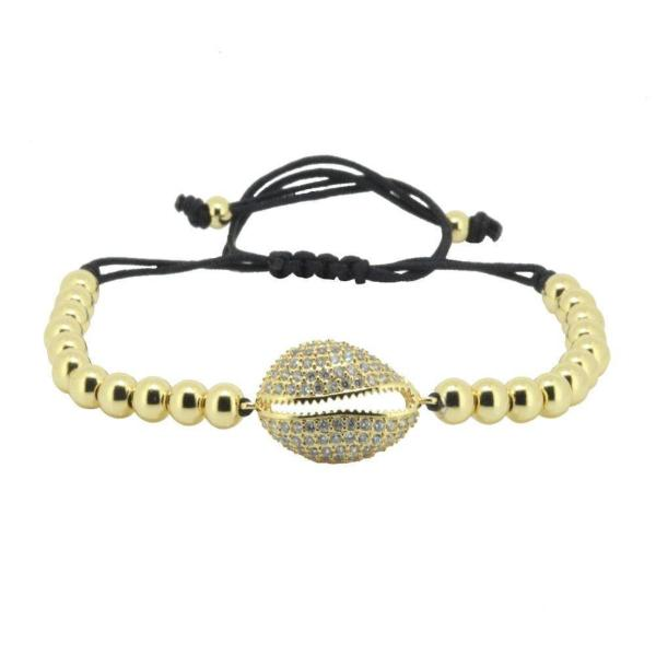 Gold Bracelets For Women Macrame