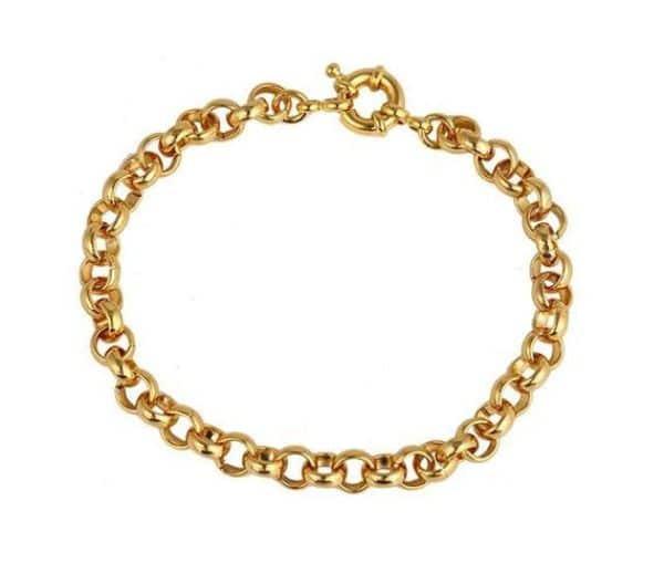 Gold Link Bracelet Womens