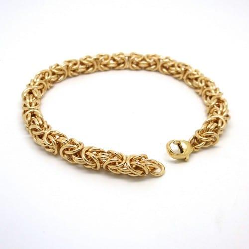 Gold Plated Bracelet Chain For Men