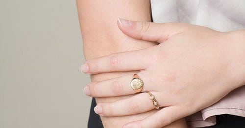 Gold Signet Rings