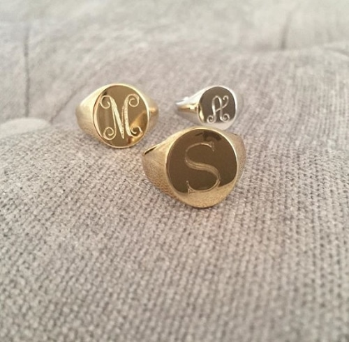 Gold Signet Rings For Men