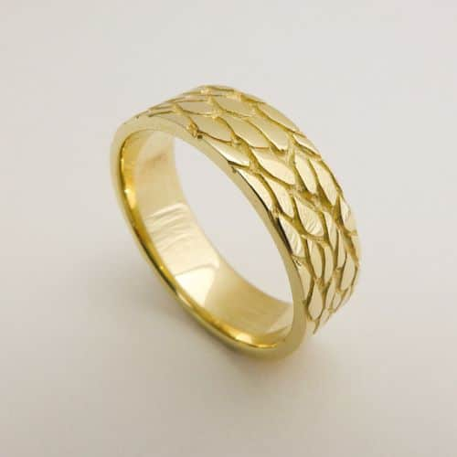 Gold Wedding Rings For Ladies