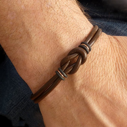 Handmade Bead Mens Bracelets