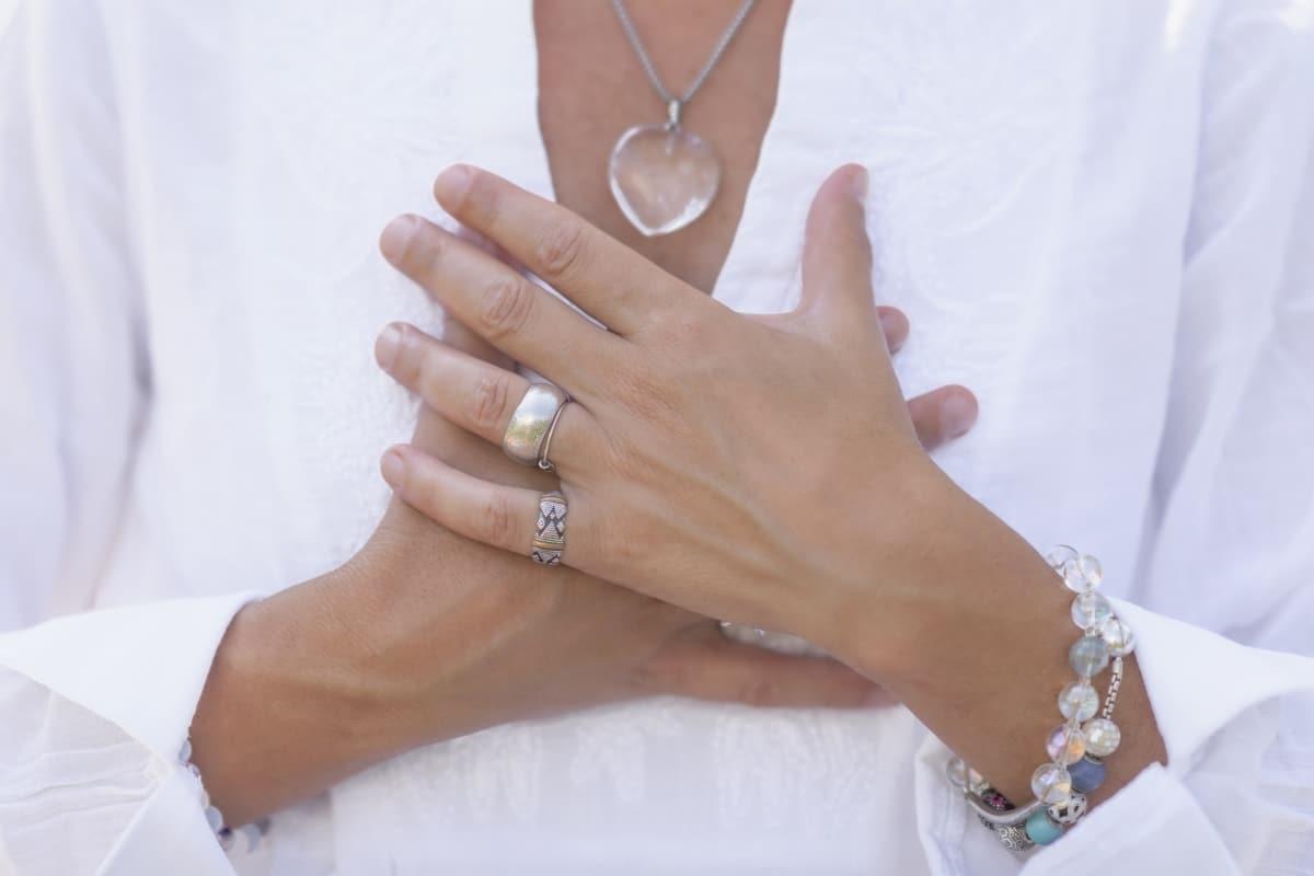 healing stone bracelet