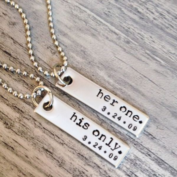 his and hers jewelry couple necklaces 1