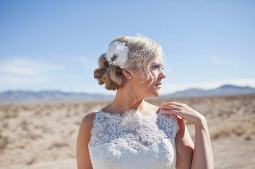 How To Wear A Birdcage Veil