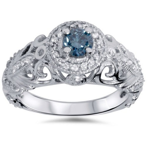 Inexpensive Vintage Engagement Rings