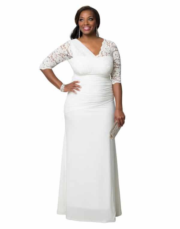 Informal Plus Size Wedding Dresses