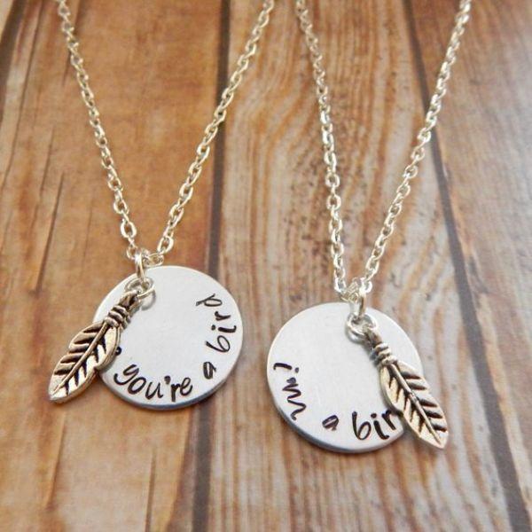 Interlocking Couples Necklaces