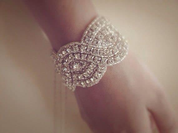Lilliana Crystal Wedding Bridal Bracelet