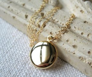 Locket Necklace With Picture