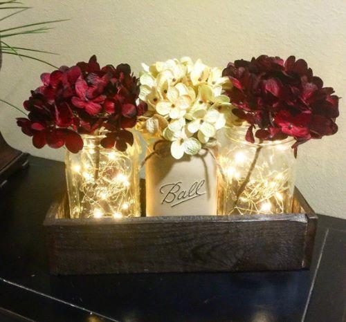 Mason Jar Light Wedding Decoration Perfection