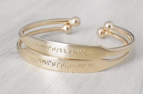 Matching Bracelets For Couples Gold