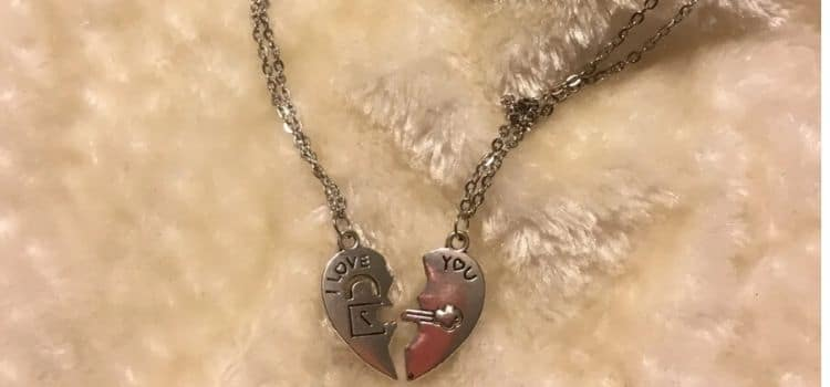 matching couple necklace