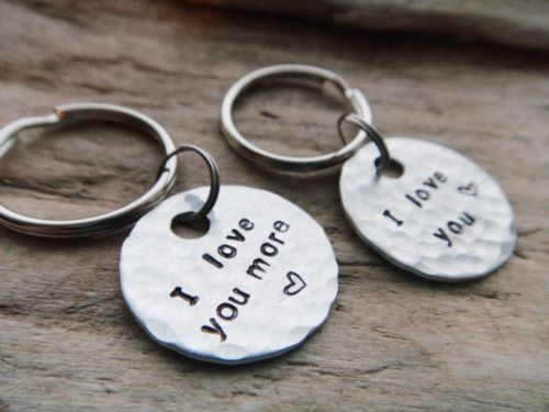 Matching Keychain Wedding Gift Perfection