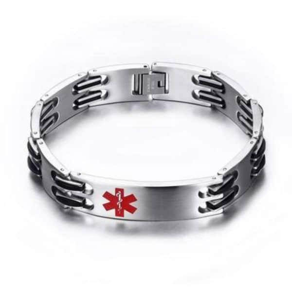 Medical Alert Bracelets Silicon