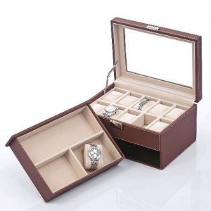 Men Jewelry Box Case