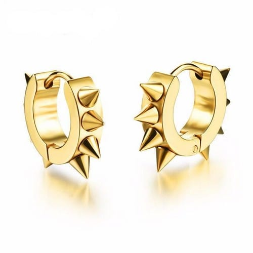 Spiked Cuff Cool Earrings