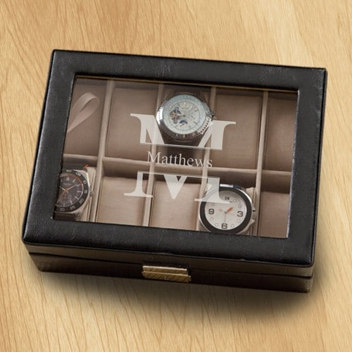 Mens Jewelry Box Valet