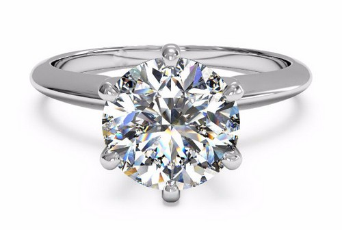 Moissanite Engagement Rings Etsy