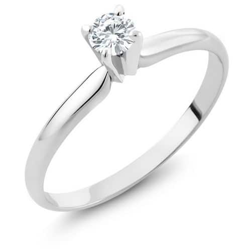 Moissanite Oval Engagement Rings