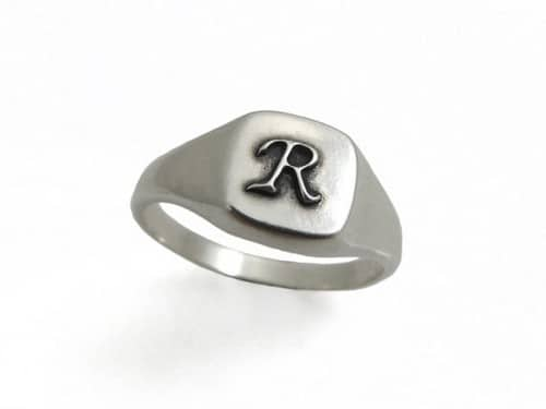 Monogram Rings For Men