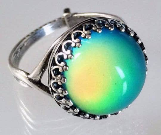 Mood Ring Blue Magic Meaning