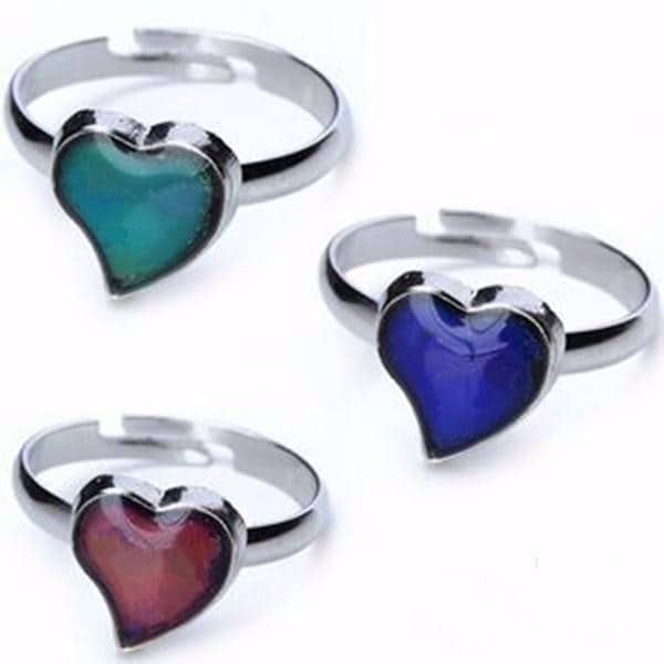 Mood Rings Color Meanings