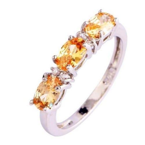 morganite engagement ring oval