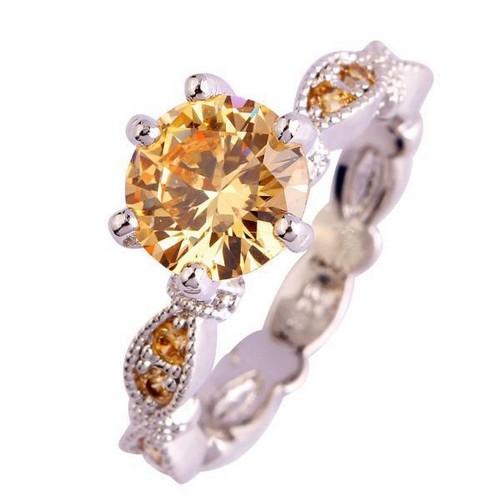 Morganite Engagement Ring Yellow Gold