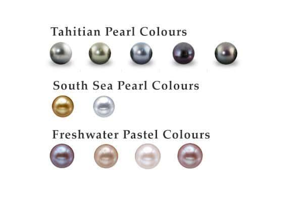 Natural Pearl Colors