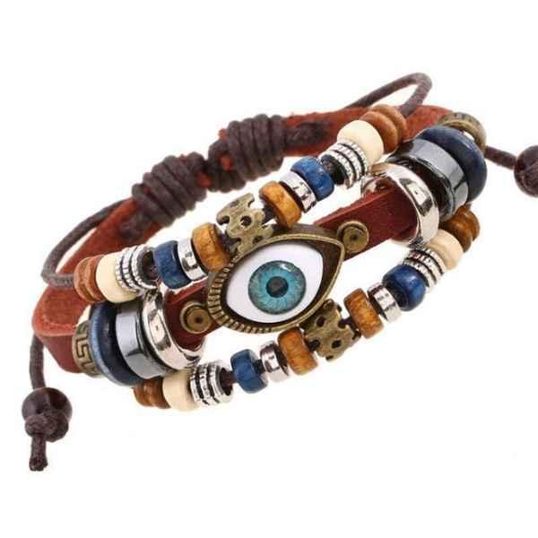 Navy Womens Bracelet