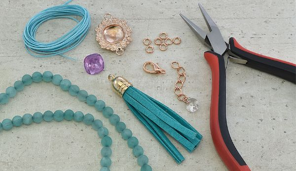 Nigerian Beaded Necklaces