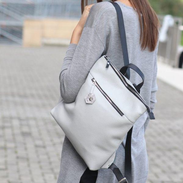Off White Mini Backpack